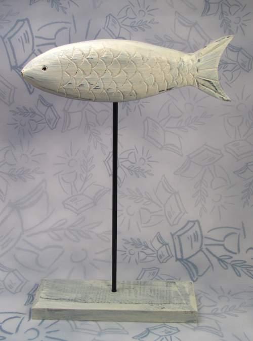 Fisch deko figur tischaufsteller tischschmuck kommunion for Tischdeko fisch